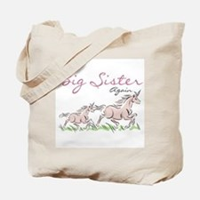 Unicorn Big Sister Again Tote Bag