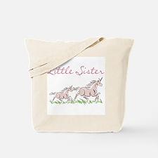 Unicorn Little Sister Tote Bag