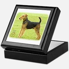 Airedale Terrier 8T092D-16 Keepsake Box
