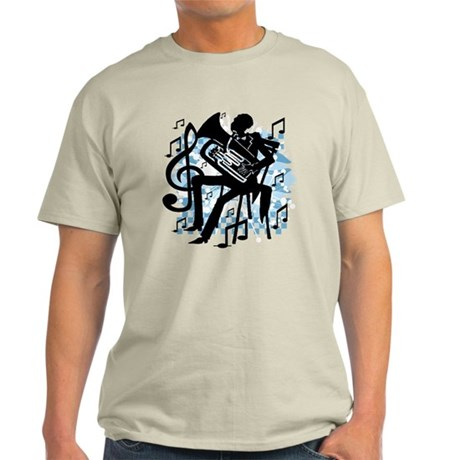 French Horn Player Light T-Shirt
