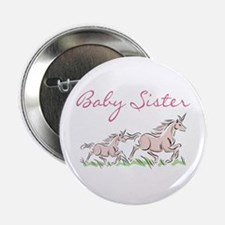 "Unicorn Baby Sister 2.25"" Button"