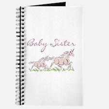 Unicorn Baby Sister Journal