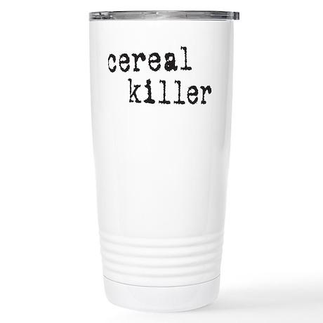Cereal Killer Stainless Steel Travel Mug