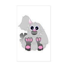 Snuggle Bunny Rectangle Decal