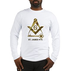 St. James Lodge #74 Long Sleeve T-Shirt