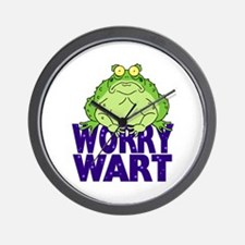 Worry Wart Wall Clock