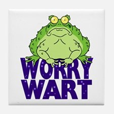 Worry Wart Tile Coaster