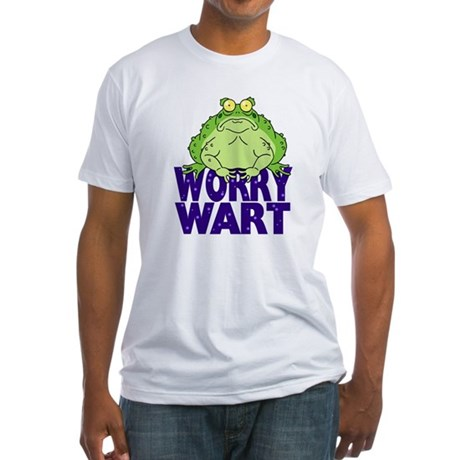 Worry Wart Fitted T-Shirt