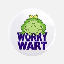 "Worry Wart 3.5"" Button"
