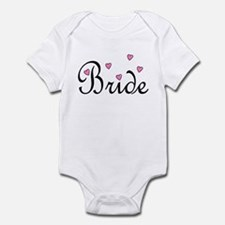 Bride (Pink Hearts) Infant Bodysuit
