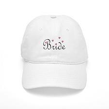 Bride (Pink Hearts) Baseball Cap