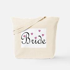 Bride (Pink Hearts) Tote Bag
