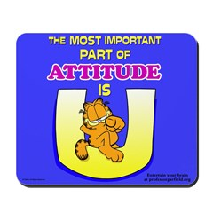 Most Important Garfield Mousepad