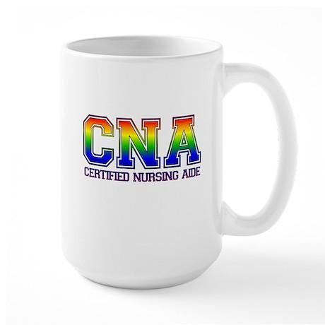 Aide Rainbow Large Mug