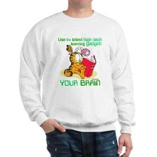 Use Your Brain Garfield Sweatshirt