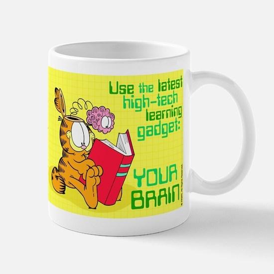 Use Your Brain Garfield Mug