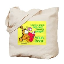 Use Your Brain Garfield Tote Bag