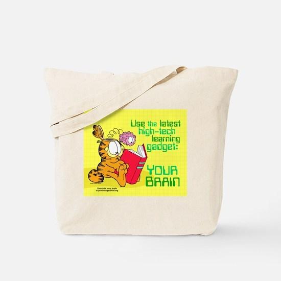 Use Your Brain Garfield Tote Bag