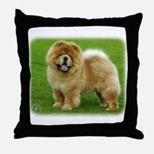 Chow Chow 9B008D-06 Throw Pillow