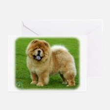 Chow Chow 9B008D-06 Greeting Cards (Pk of 10)