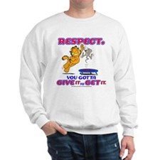 Respect Garfield Sweatshirt