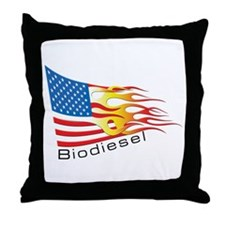 Flag 3 Throw Pillow