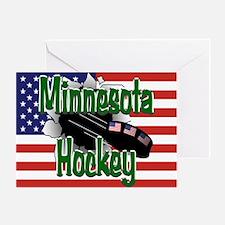 Minnesota Hockey Greeting Card