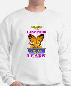 Learn to Listen Garfield Jumper