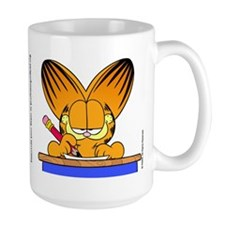 Learn to Listen Garfield Mug