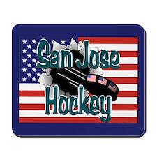 San Jose Hockey Mousepad