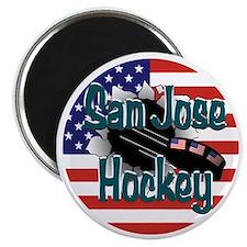 San Jose Hockey Magnet