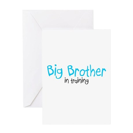 Big Brother in Training Greeting Card