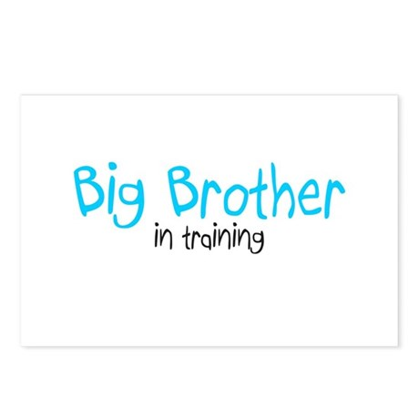 Big Brother in Training Postcards (Package of 8)