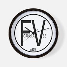 Formula Vee Wall Clock