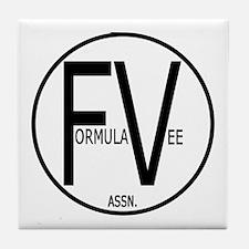 Formula Vee Tile Coaster