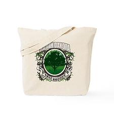 Tree Hugger North Dakota Tote Bag