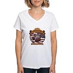 America's Dog Women's V-Neck T-Shirt
