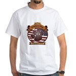 America's Dog White T-Shirt