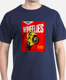 WHEELIES Navy T-Shirt