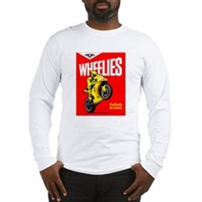 WHEELIES LS T-Shirt White