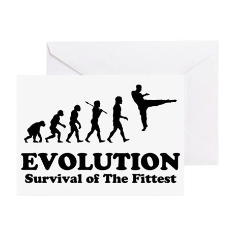 Fighter Evolution Greeting Cards (Pk of 10)