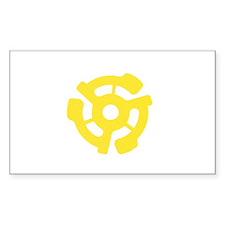 Adaptor Rectangle Sticker 10 pk)