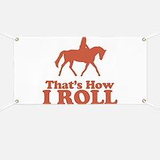 Horse Rider Banner