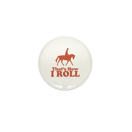 Horse Rider Mini Button