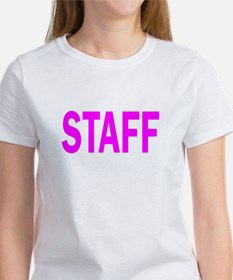 Staff (Pink) Women's T-Shirt