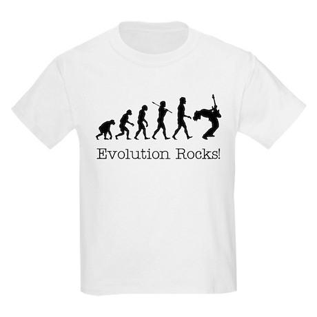 Evolution Rocks Kids Light T-Shirt