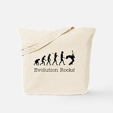 Evolution Rocks Tote Bag