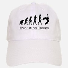 Evolution Rocks Baseball Baseball Cap