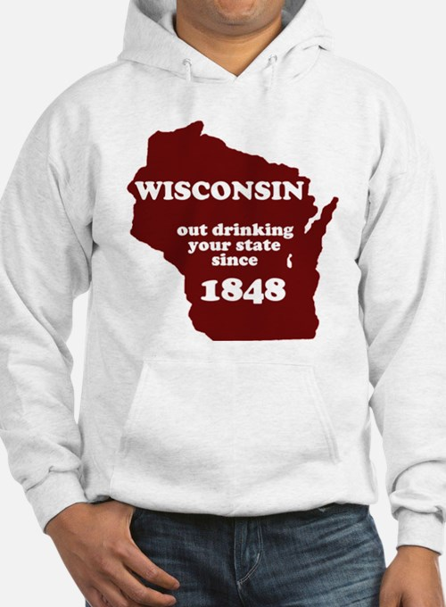 Wisconsin hoodies