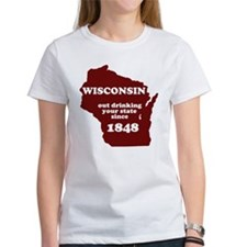 Wisconsin Outdrinking Your St Tee